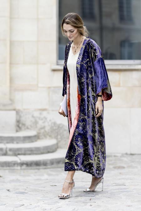 Kimono jako płaszcz