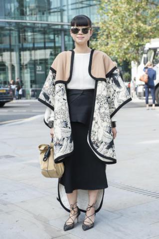 Nietypowy krój kimona