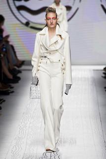 Marynarski biały kostium