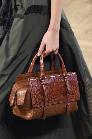 Bottega Vaneta prezentuje  torebkę w stylu safari