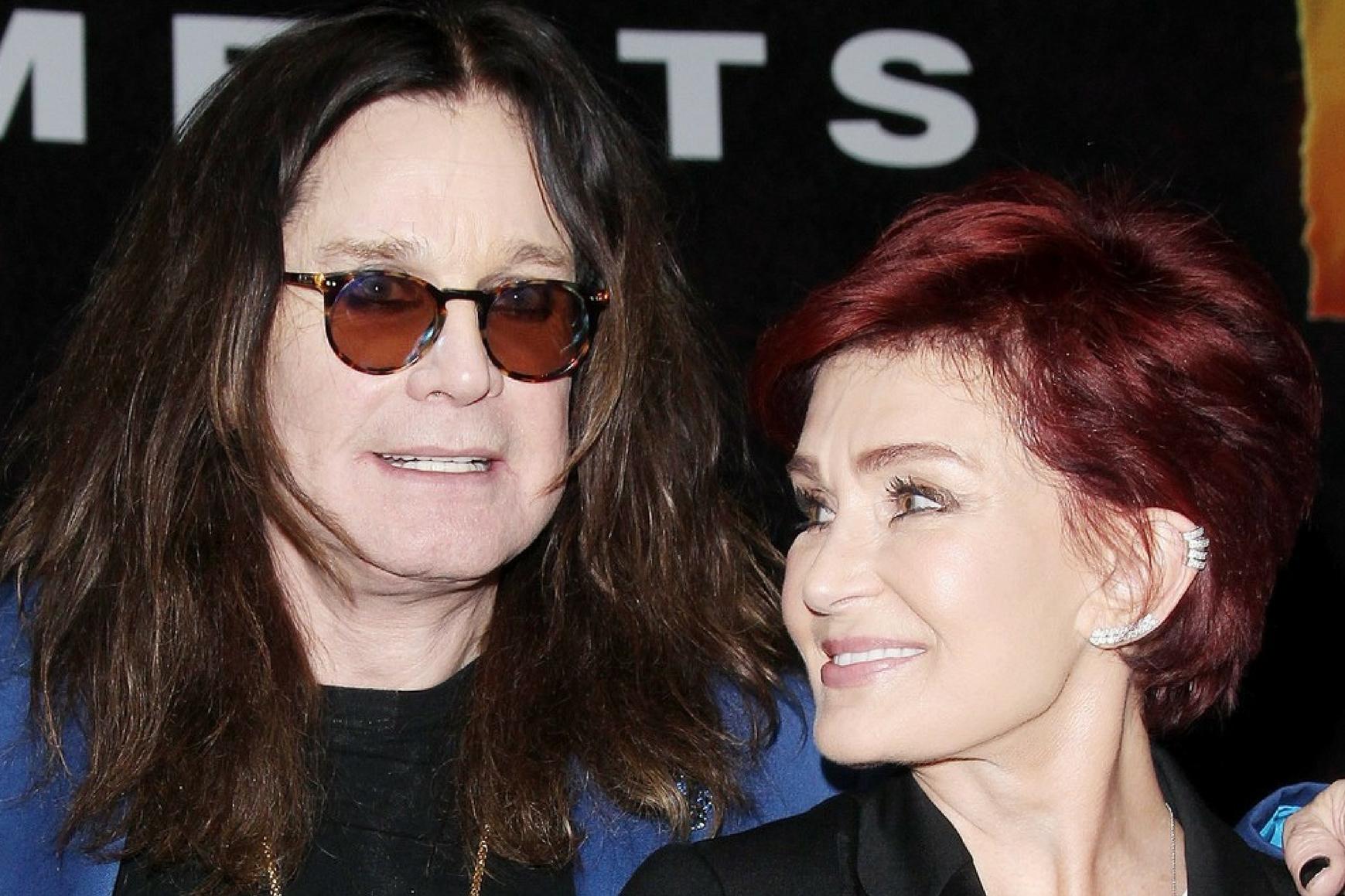 sławne pary- Ozzy i Sharon Osbourne