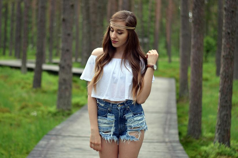 bluzka hiszpanka