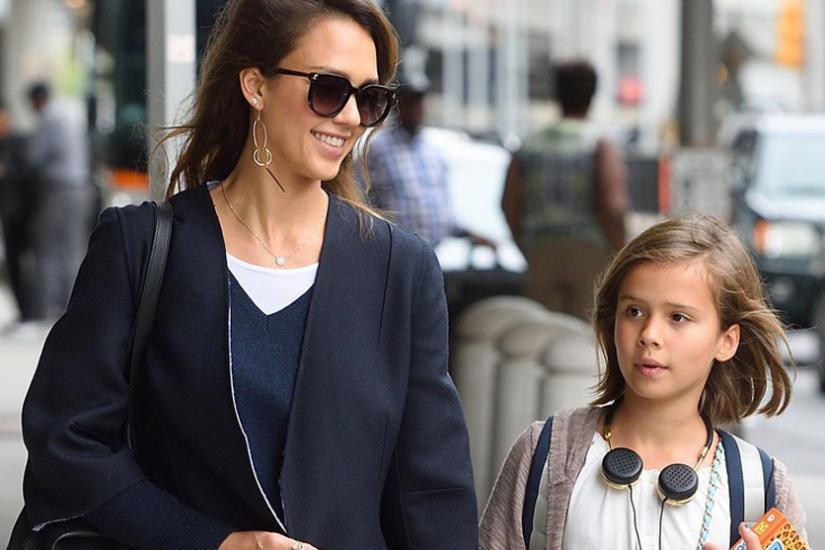 Jessica Alba z córka