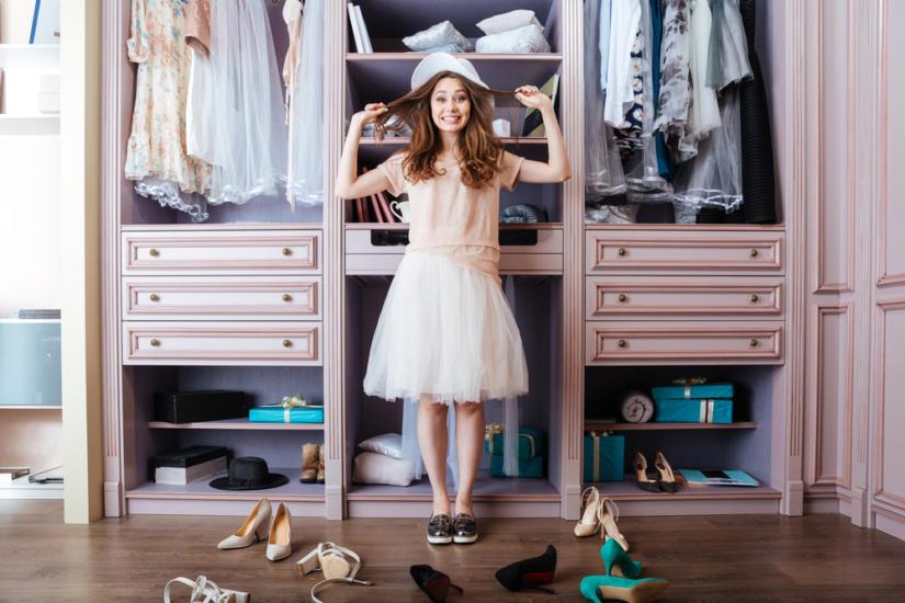Czy lubisz wszystkie ubrania, które masz w swojej szafie?