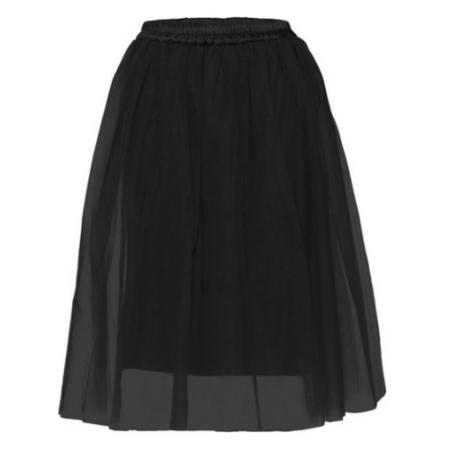 Czarna spódnica tiulowa