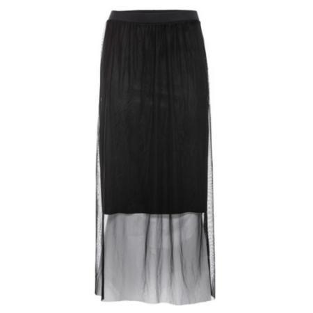 Ołówkowa tiulowa spódnica