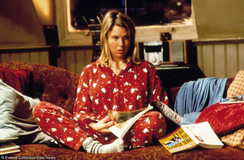 Ulubiona stylizacja Bridget - pidżama!
