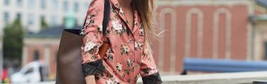 pidżama moda stylizacje