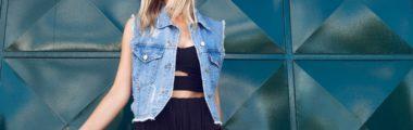 Jak nosić jeansową kamizelkę?