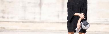 sweterkowe sukienki moda stylizacje jesień zima