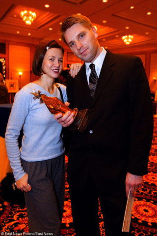 Kinga Rusin, absolwentka italianistyki, w 1999 roku była już szczęśliwą żoną Tomasza Lisa