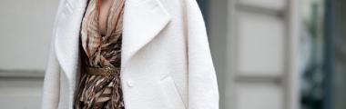 Jesienne beżowe płaszcze