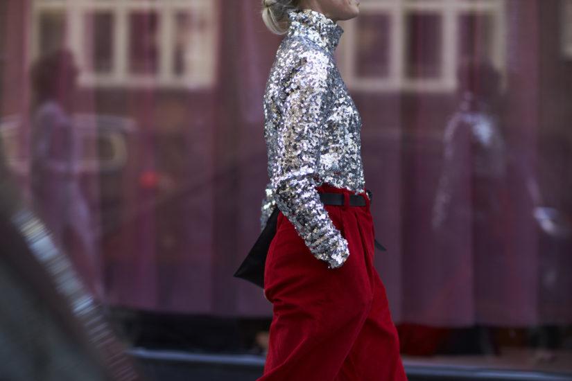 jak się ubrać w stylu glamour