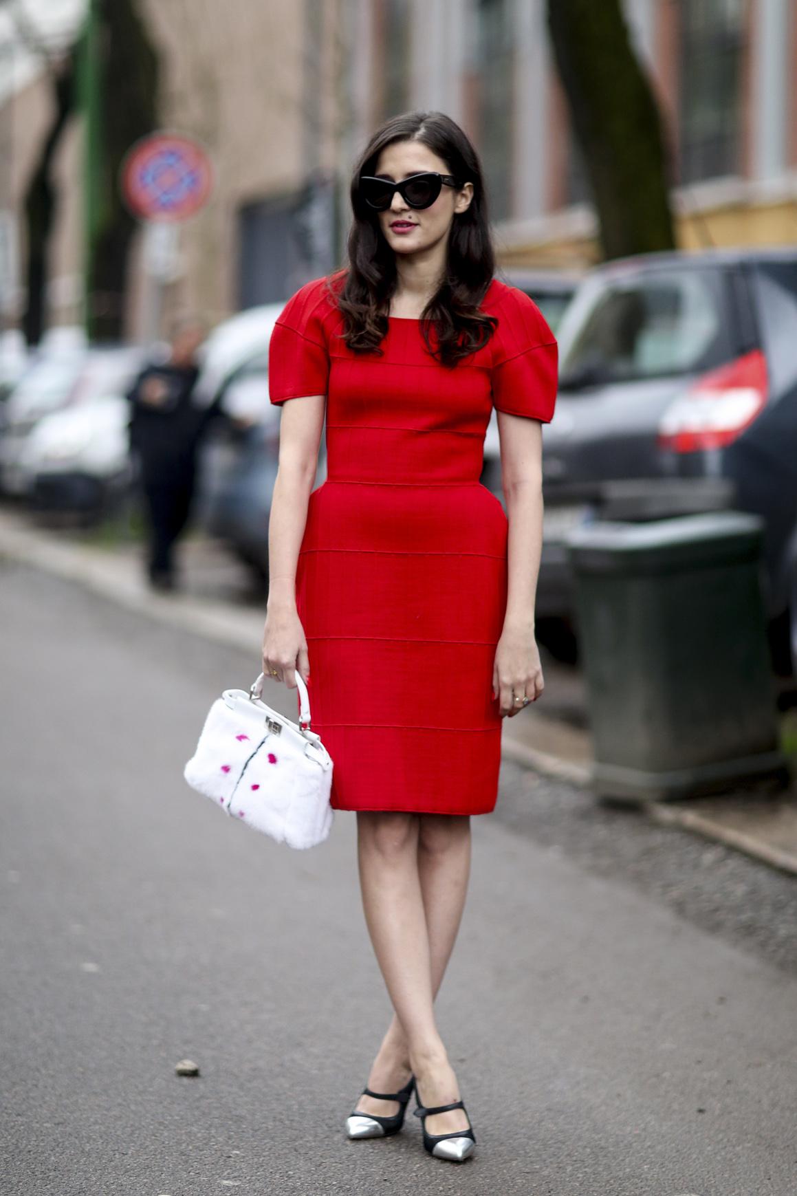 Kobieca czerwień