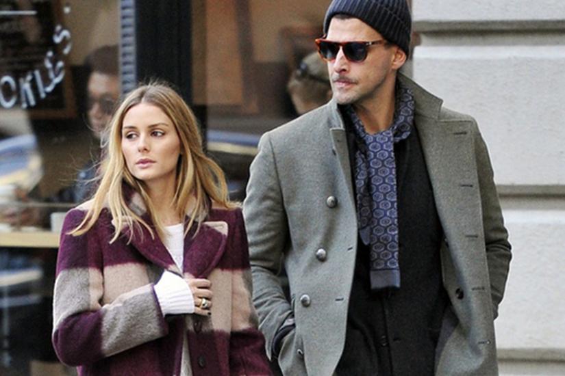 Olivia Palermo z mężem w nowym Jorku