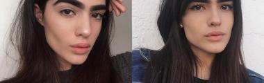 Natalia Castellar modelka z bujnymi brwiami