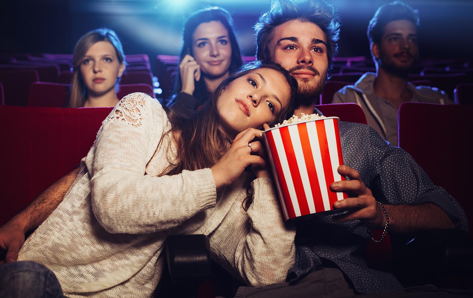 To Wasza kolejna randka? Zabierz ją do kina!