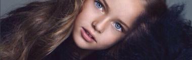 Kristina Pimenova najmłodsza modelka najpiękniejsze dziecko rosjanka