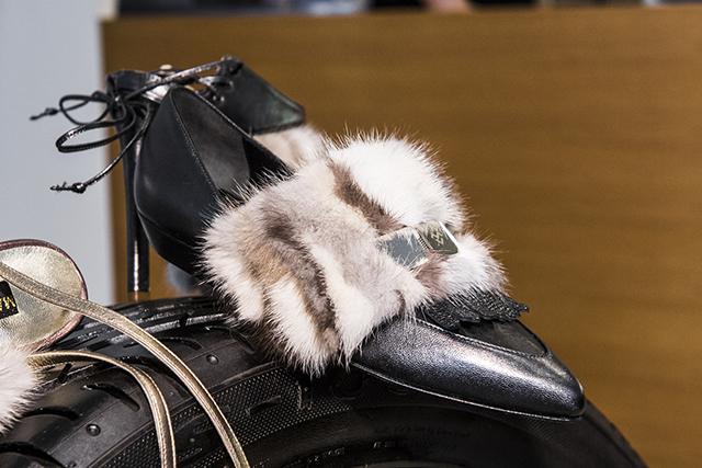 Buty z pokazów - detale