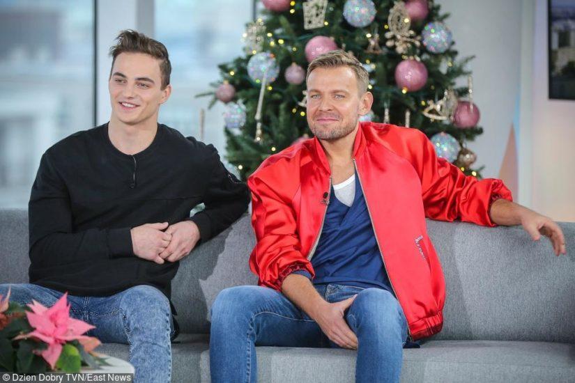 Patryk Grudowicz i Dawid Woliński na święta w stylu casual
