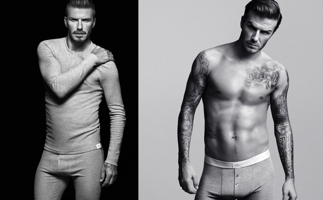 Dawid Beckham w kolekcji bielizny H&M