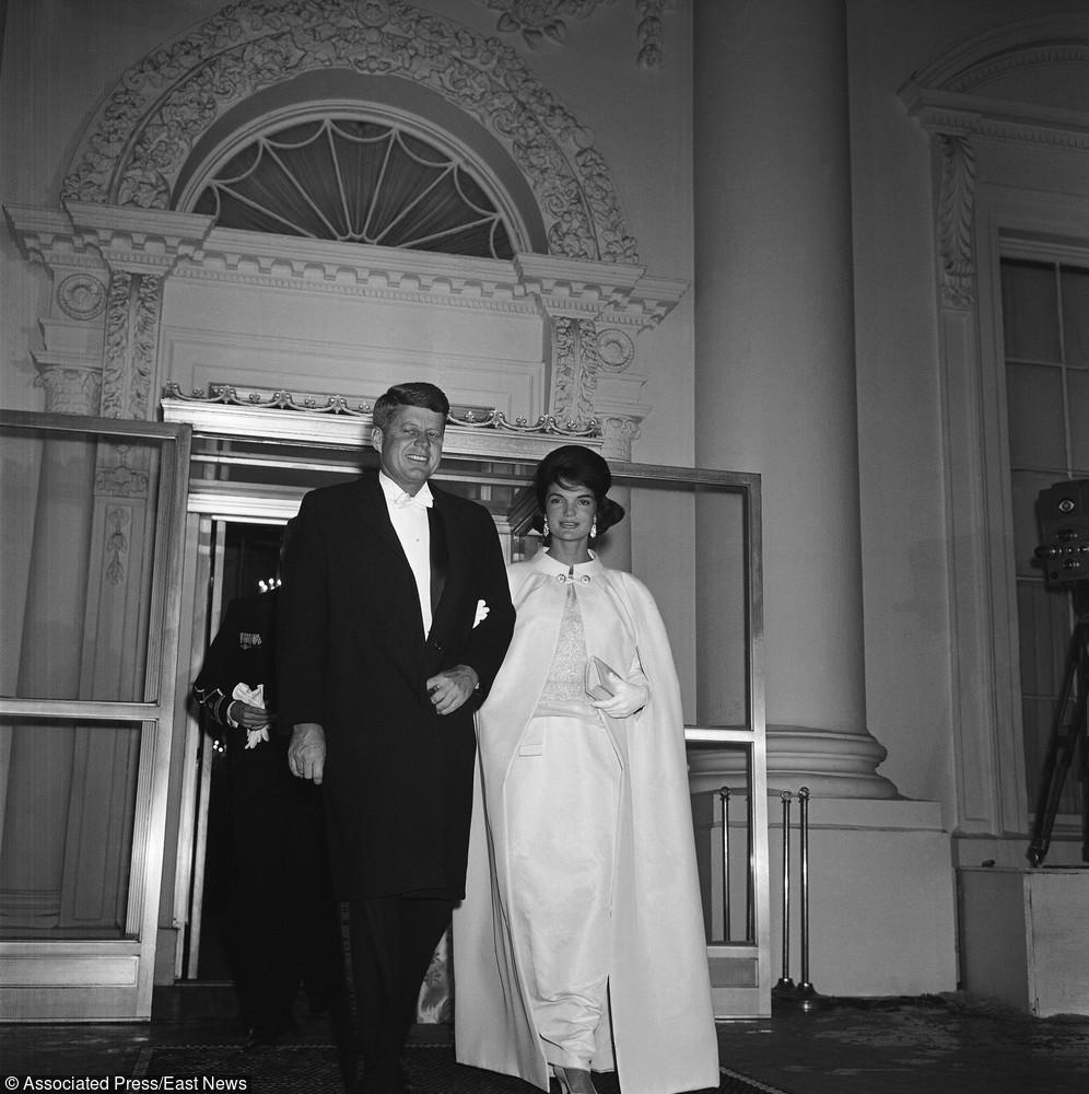 John Kennedy i Jackie Kenndy - 20 stycznia 1961 rok