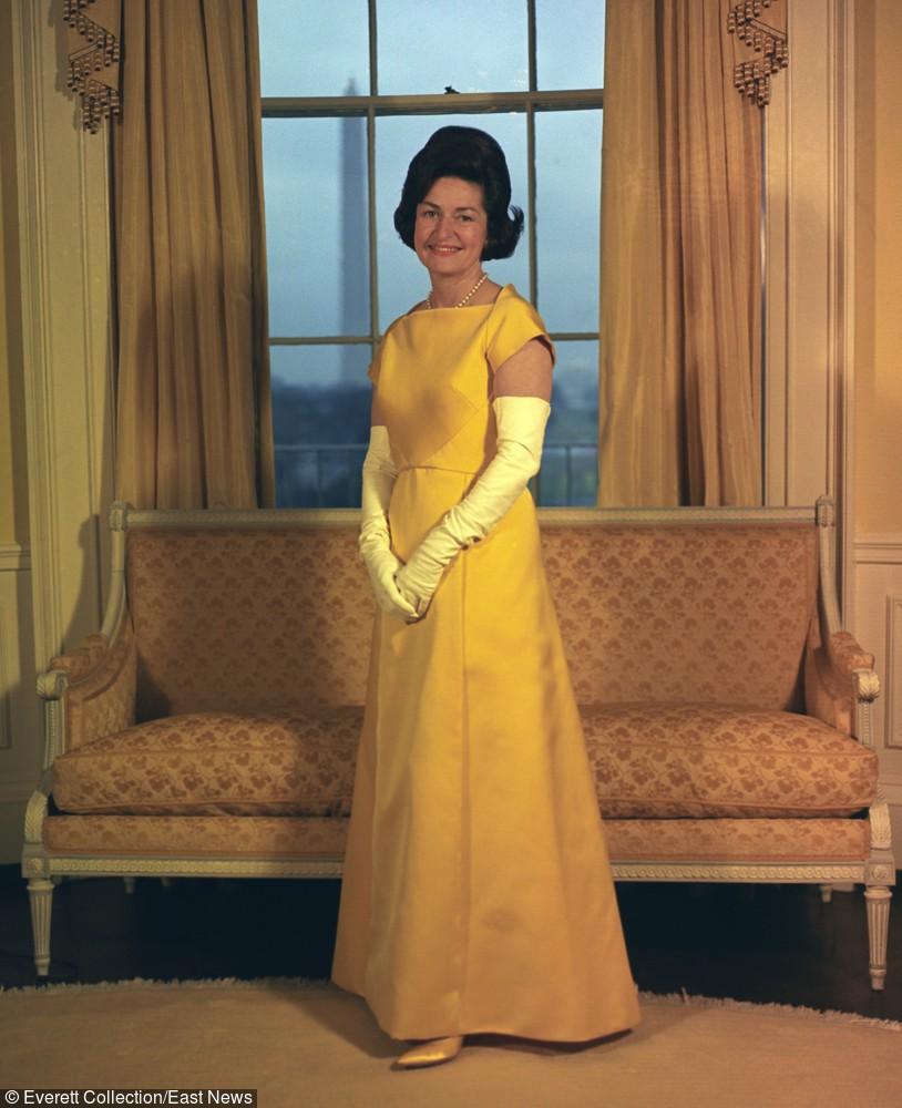 Lady Bird Johnson - styczeń 1965