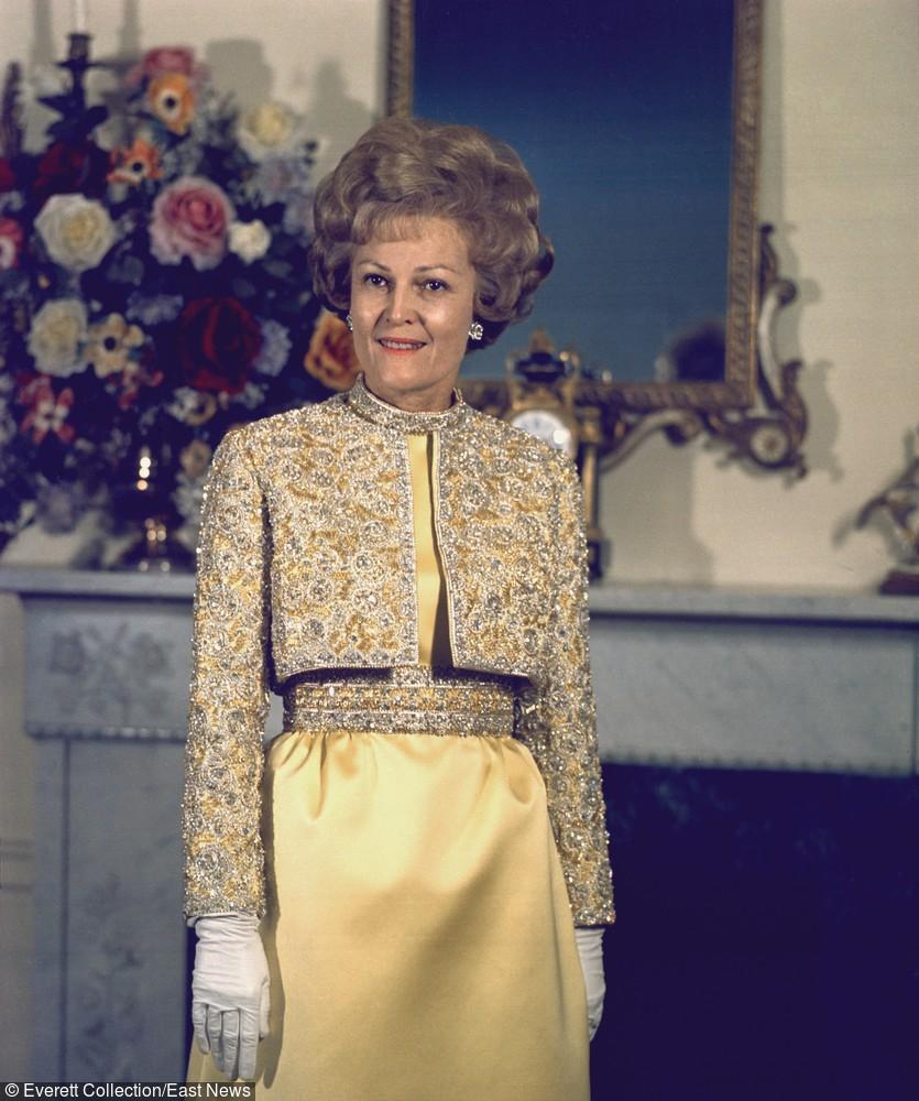 Patricia Nixon - 16 stycznia 1969