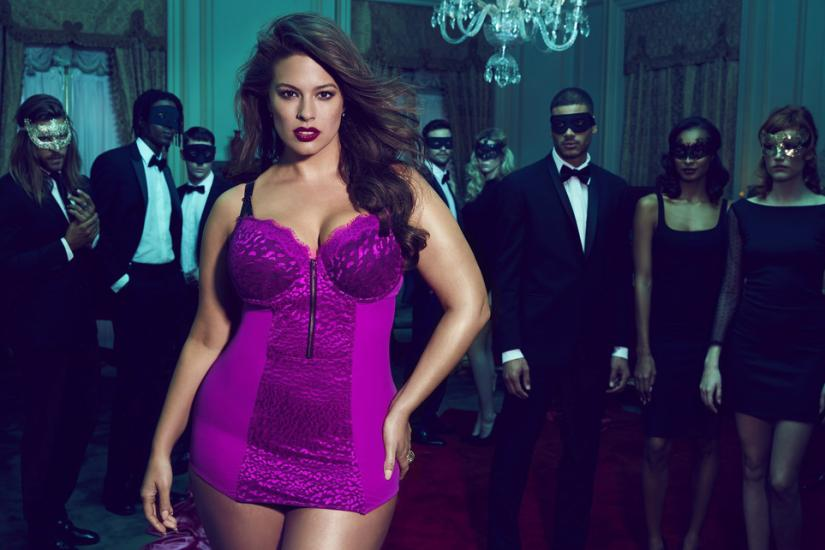 Ashley Graham to top modelka plus size