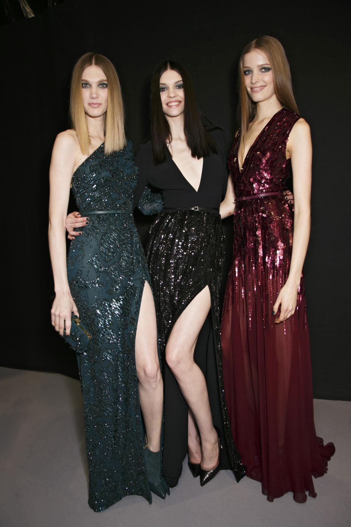 Długa suknia pasuje do każdej sylwetki