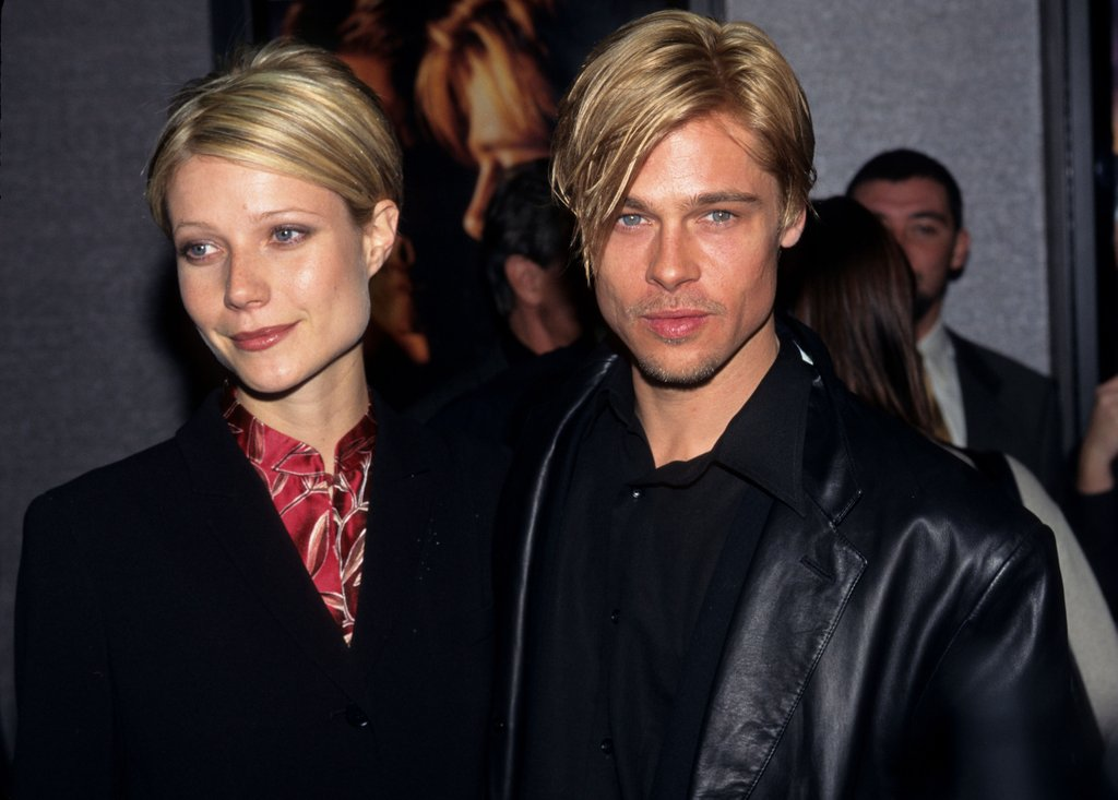 Gwyneth Paltrow i Brad Pitt #twinning look
