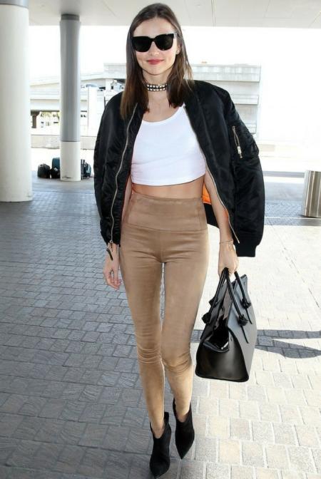 Miranda Kerr w legginsach