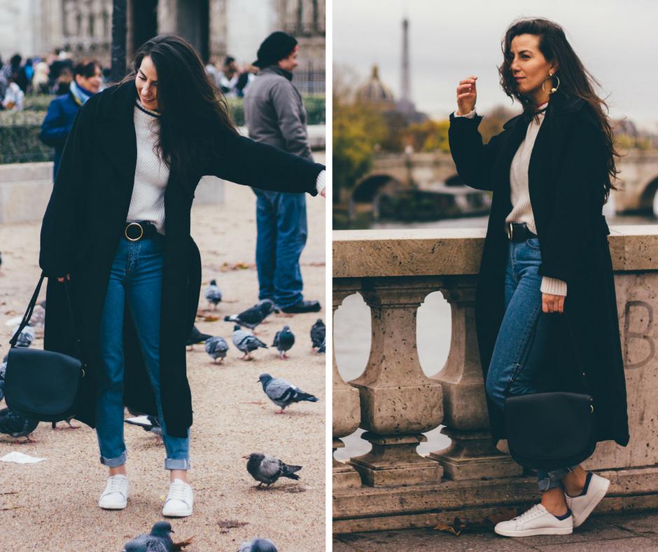 Stylowa Polka w Paryżu - stylizacja idealna na miejskie spacery