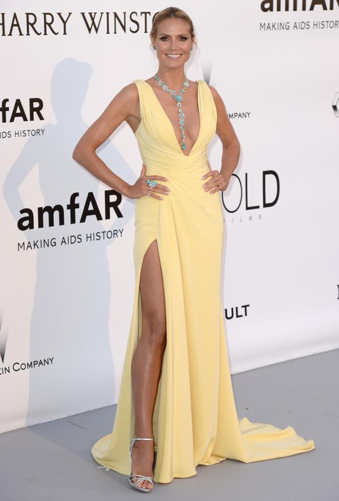 Heidi Klum na gali amfAR