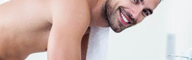 pielęgnacja męskiej twarzy