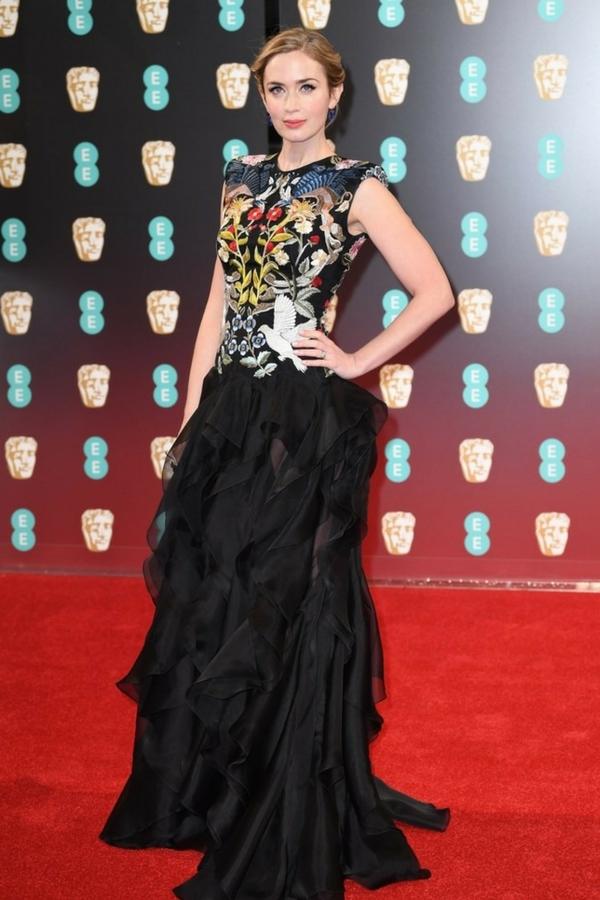 Emily Blunt BAFTA 2017