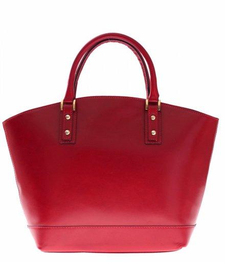Czerwony shopper