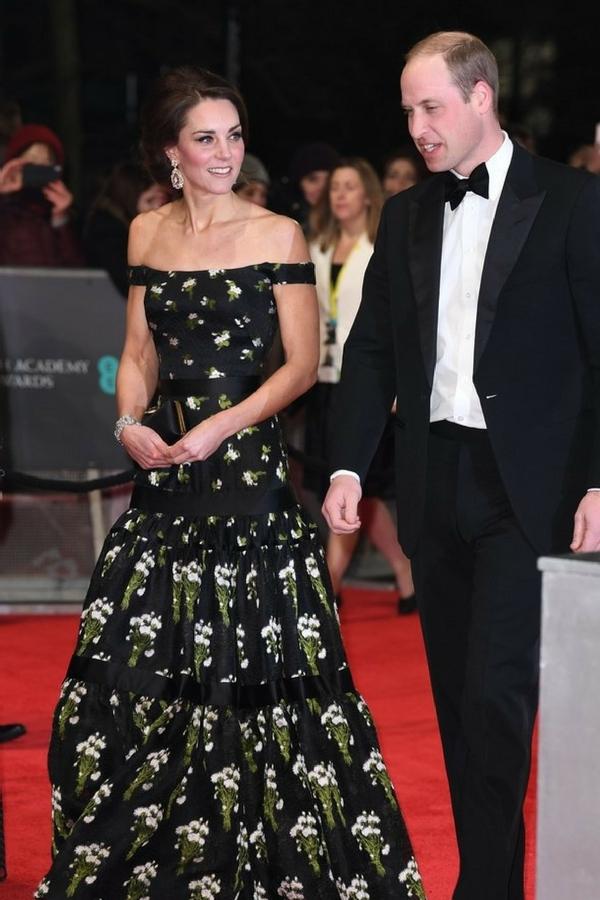 Kate Middleton BAFTA 2017