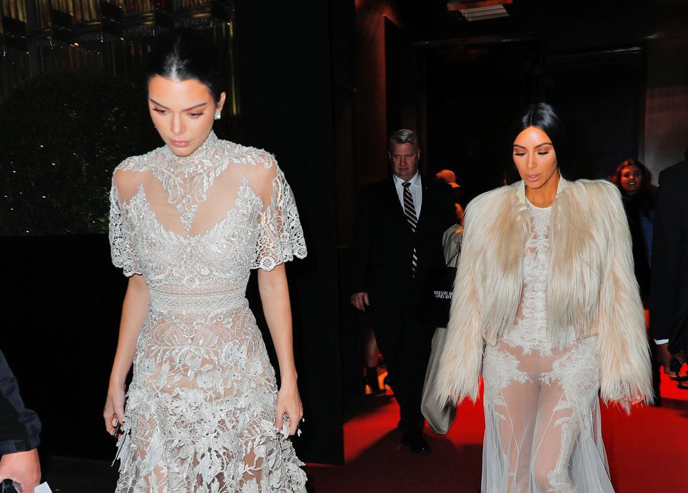 Kim Kardashian i Kendall Jenner
