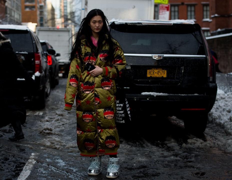 Street style NYFW - FW 2017
