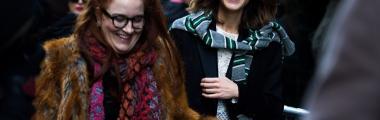 Street style na Tygodniu mody w Nowym Jorku - zima 2017/2018