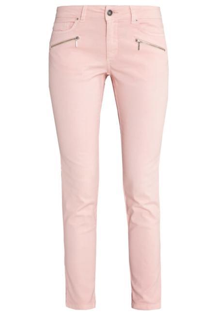 Pastelowe jeansy