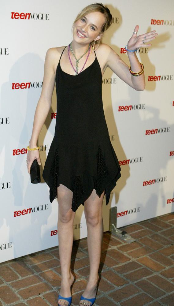 Dakota Johnson po raz pierwszy na czerwonym dywanie