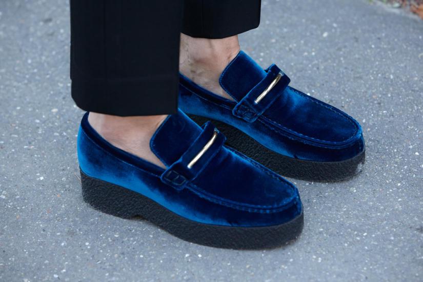 Sportowe loafersy