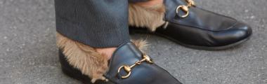 Futrzane buty to bardzo kontrowersyjny trend w modzie