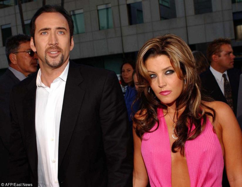 Nicolas Cage i Lisa Marie Presley