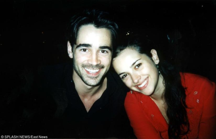 Colin Farrell i Amelia Warner