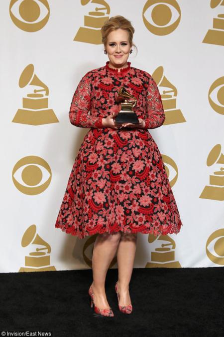 Grammy 2013 - Adele wśród nagrodzonych