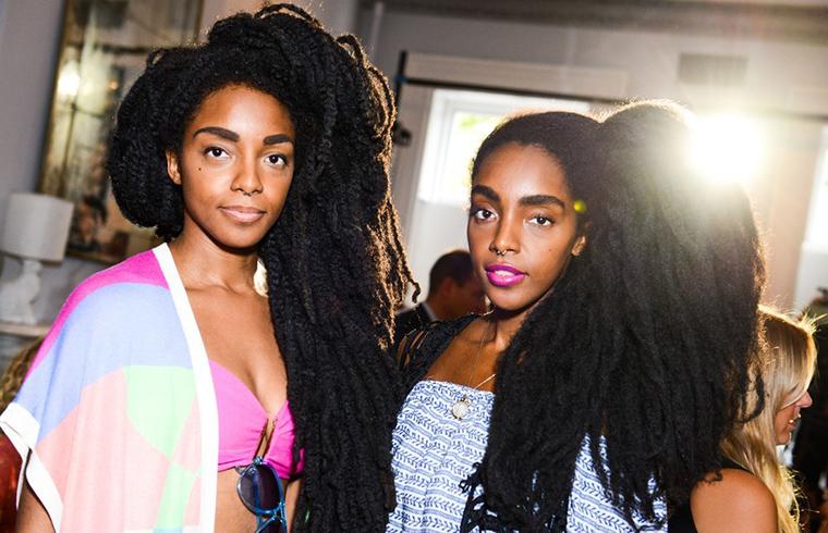 Cipriana Quann i TK Wonder słyną z bujnej fryzury
