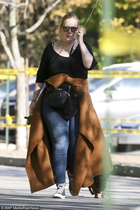 Adele w zoo w Toronto